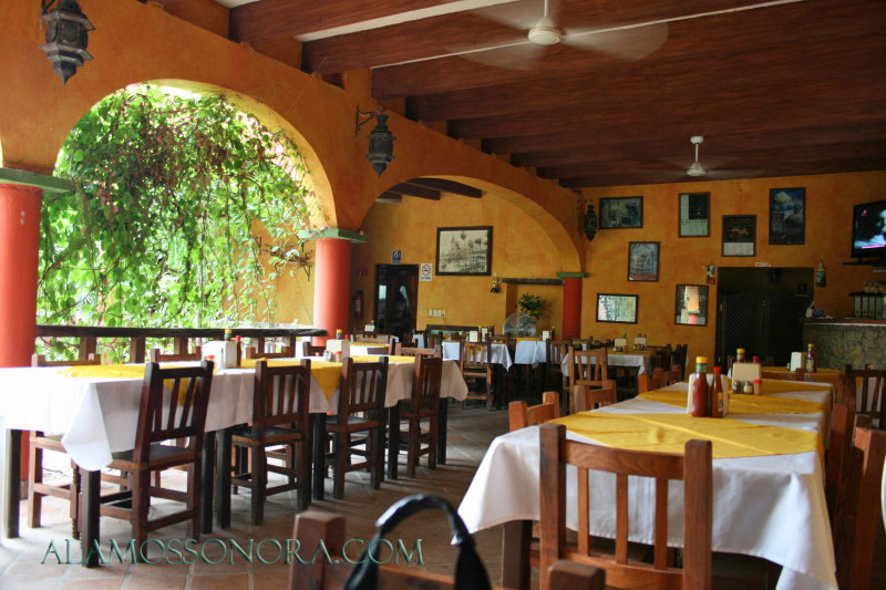 restaurant in alamos sonora