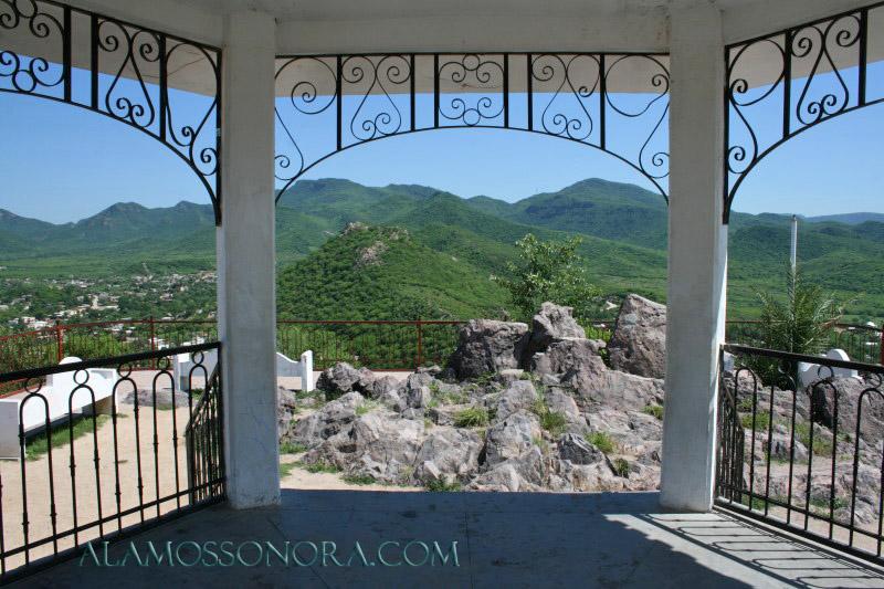 One of the views from atop El Mirador in Alamos