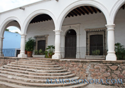 The mansions of Alamos, Sonora
