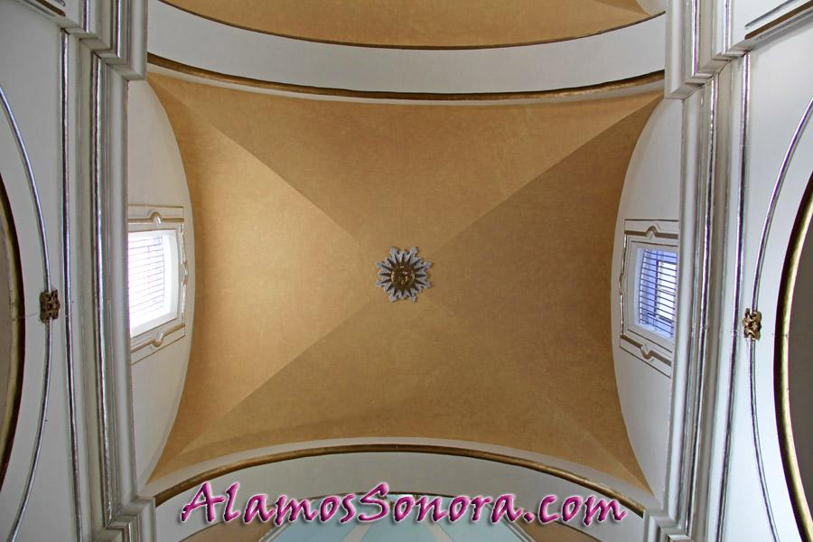 Sanctuary of Iglesia Parroquía de Nuestra Señora de la Purísima Concepcíon in Alamos Sonora Mexico