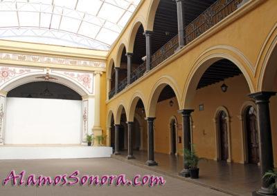 Palacio Municipal in Alamos Sonora Mexico