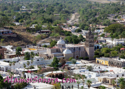 Alamos scenes taken from atop El Mirador lookout point