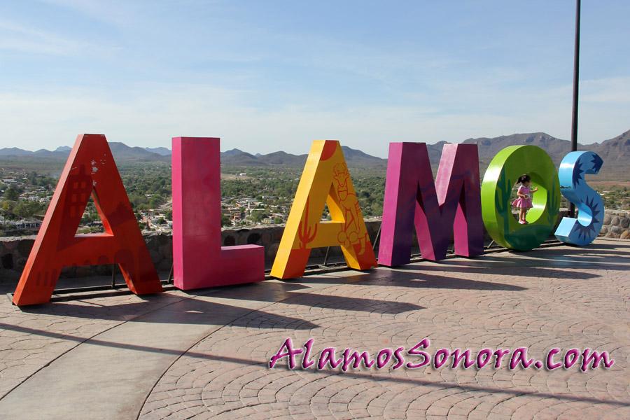 Alamos Mexico as seen from El Mirador